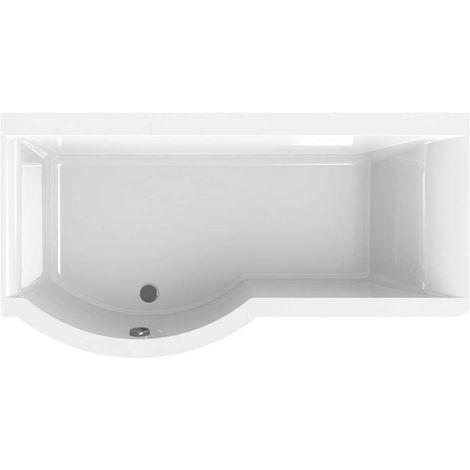 Carron - Carronite Urban Shower Bath 1700x900mm LH - White