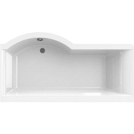 Carron - Carronite Urban Shower Bath 1700x900mm RH - White
