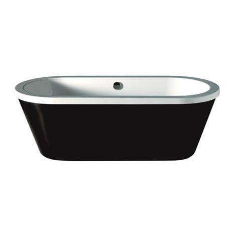 Carron - Halcyon Freestanding Bath 1750x800mm - White/Black