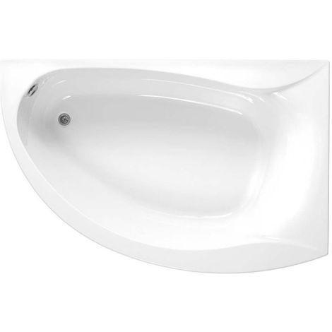 Carron - Omega LH Corner Bath 1700x1000 5mm Carron - White