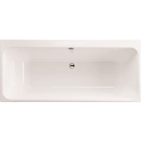 Carron - Profile 1600x700 Plain 5mm DE Bath - White