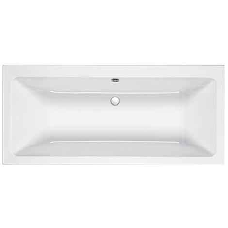 Carron Quantum De 1700 X 700mm Double Ended Bath