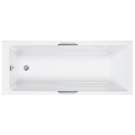 Carron Quantum Eco Integra 1700 X 700mm Standard Bath With Grips