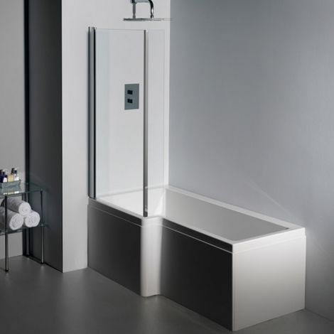Carron Quantum Square Bath Shower Screen