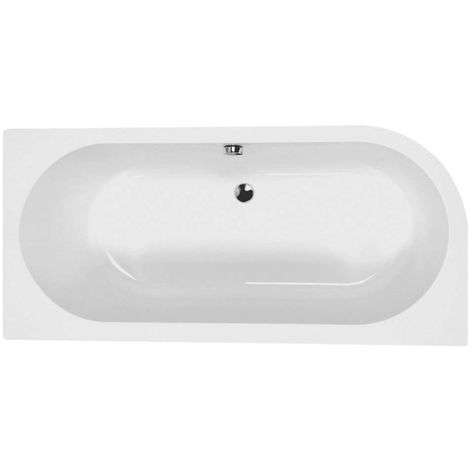 Carron - Status 1700x800mm Bath LH 5mm - White