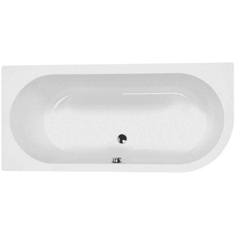 Carron - Status 1700x800mm Bath RH 5mm - White