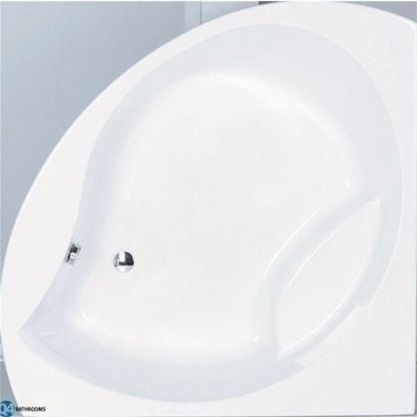 Carron - Tranquility Corner Bath 1300x1300 5mm Carron - White