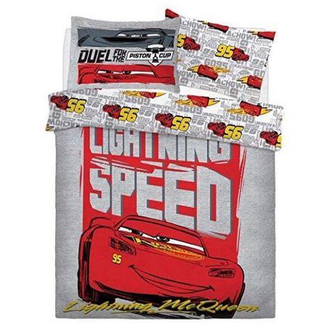 Cars Lightening Speed Boys Reversible Duvet Set