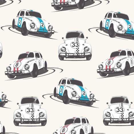 Cars Wallpaper Motoring Vehicles Speed Bug White Multicoloured Retro Muriva