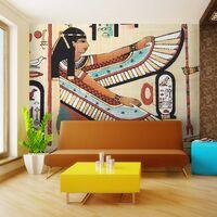 Carta Da Parati Fotomurale - Motivi Egiziani 200x154cm Erroi