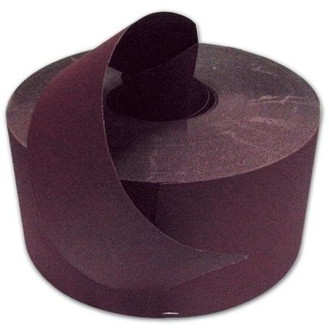 Carta Vetrata Abrasiva al Corindone K117 Grana 100 H120mm Rotolo 50 mt (Phe)