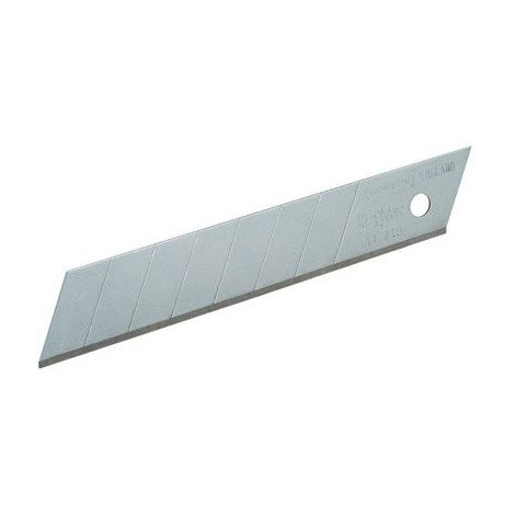 Carte 10 lames cutter Fatmax STANLEY 18 mm - 2-11-718