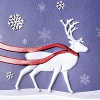 Carte de Noël + enveloppe Sigel DS017 soirée dhiver DIN long 220 g/m² multicolore 10 pc(s)