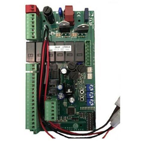 Carte électronique ZA3P pour portail avec 1 ou 2 moteurs 230V - Came