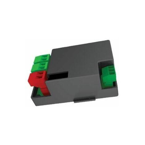 Carte pour le branchement de 2 batteries de secours 12 V 1,2 Ah