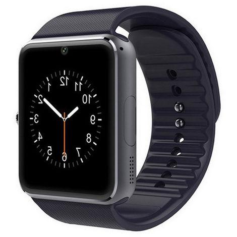 Carte SIM d'écran tactile de GT08 Bluetooth Smartwatch compagnon de téléphone de NFC pour Android IOS