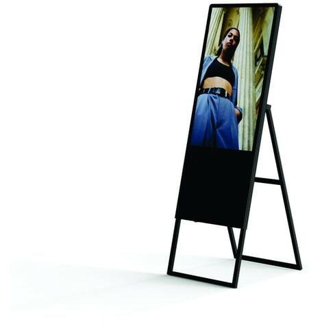 Cartel digital publicitario LCD plegable Full HD 32 pulgadas