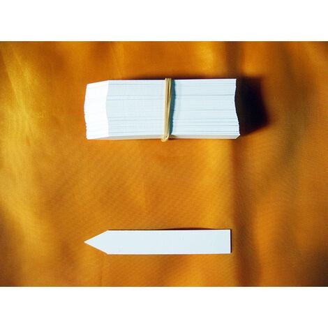 Cartellini, etichette a lancetta in PVC 80x13x0,06 mm (PF8) (50 pezzi)