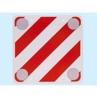 Cartello carico sporgente in polionda con dischi rifrangenti 50x50 cm