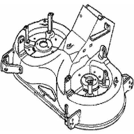 Carter de coupe tracteur tondeuse Honda 122 cm
