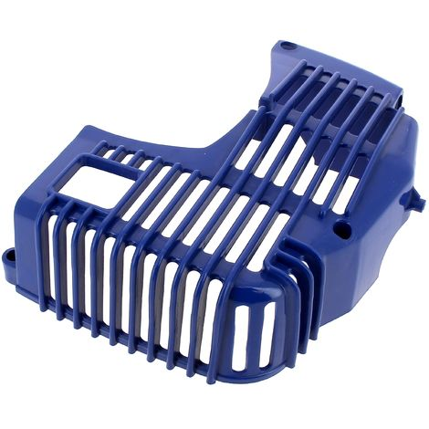 Carter moteur bleu pour Debroussailleuse Einhell
