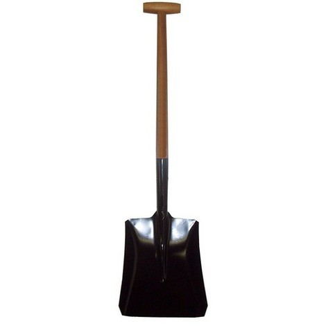 Carters SPEC02ET No 2 Open Socket T Handle Shovel