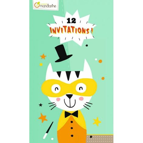 Cartes d'invitation - Animaux