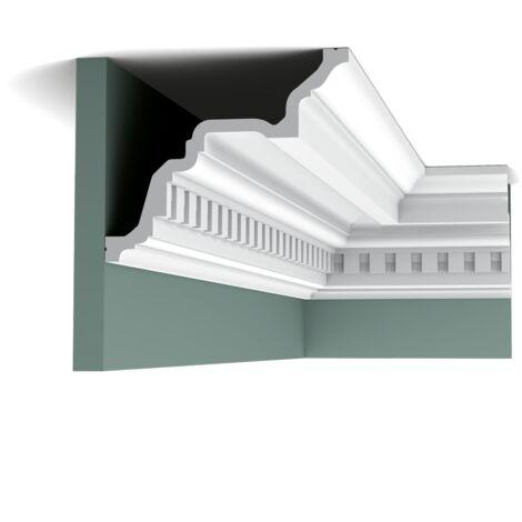 carton complet de 20 mètres C422 Corniche plafond Orac Decor Luxxus - 17x19,5x200cm (h x p x L) - Conditionnement : Carton complet