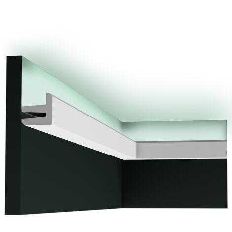 carton complet de 22 mètres de C380 Corniche Plafond Orac Decor -Luxxus - 5x5cm (h x p) - Conditionnement : Carton complet