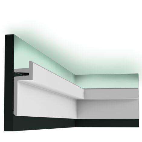 carton complet de 24 mètres de C382 Corniche Plafond Orac Decor -Luxxus - 14x5cm (h x p) - Conditionnement : Carton complet