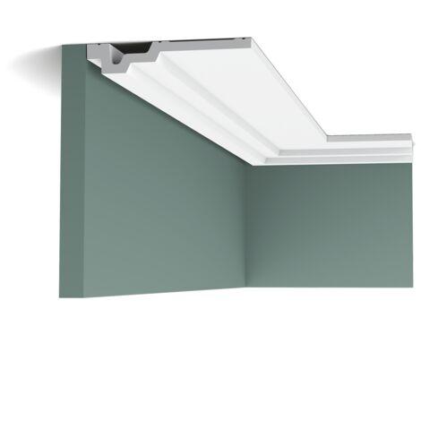carton complet de 32 mètres C353 Corniche plafond Orac Decor Luxxus 3,5x16,5x200cm (h x p x L) - Conditionnement : Carton complet
