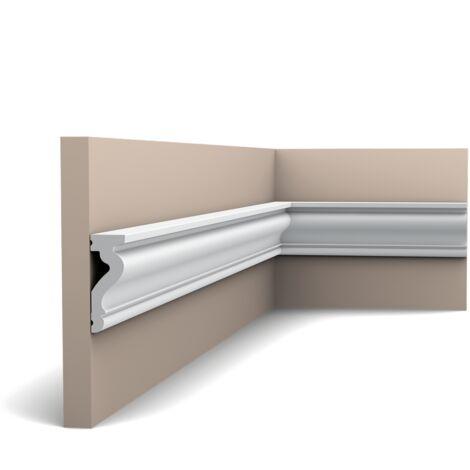 Carton complet de 55,2m DX174-2300 Moulure multifonctionnelle Orac Decor - 6x2,2x230cm (h x p x L) - rigide ou flexible : rigide - conditionnement : Carton complet