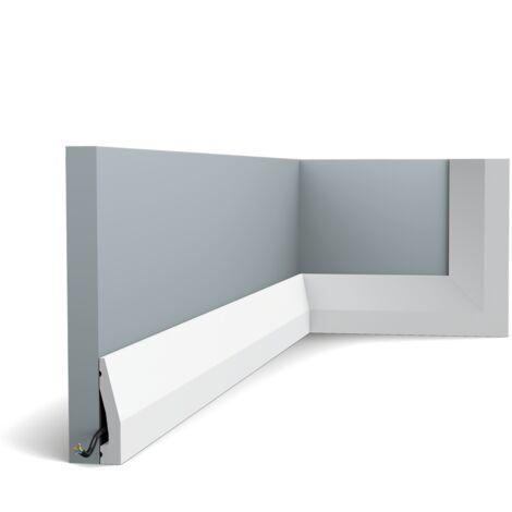 Carton complet de 72m SX159 Plinthe Orac Decor - 6x1,2x200cm (h x p x L) - plinthe déco polymère - Longueur : 200cm - conditionnement : Carton complet