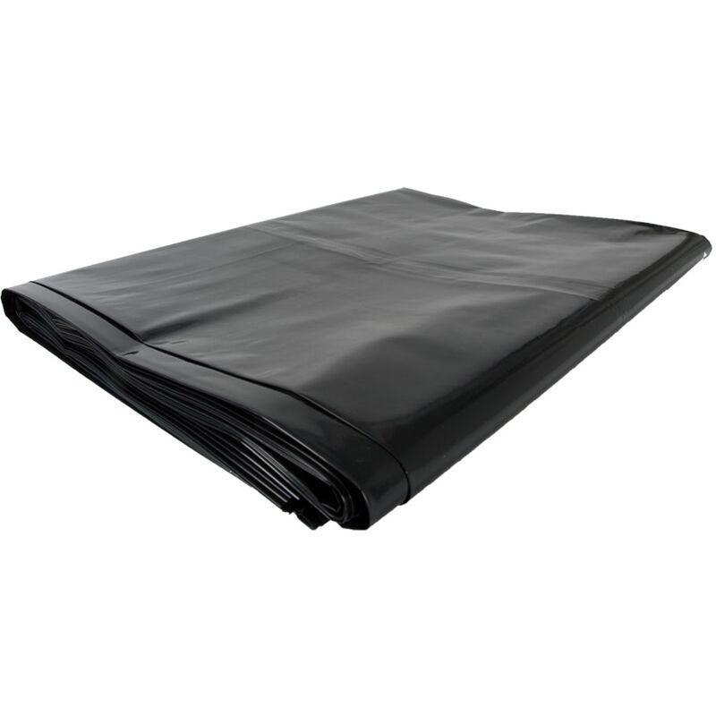 Carton de 100 sacs poubelles 130 litres Gris/noir - SI008170 - Topcar