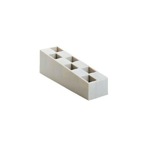 Carton de 110 Cales crantées multi-usages - 50X45X150 - GRISES