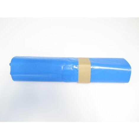 Carton de de 200 sacs poubelles bleus 110 litres Epaisseur 50µ