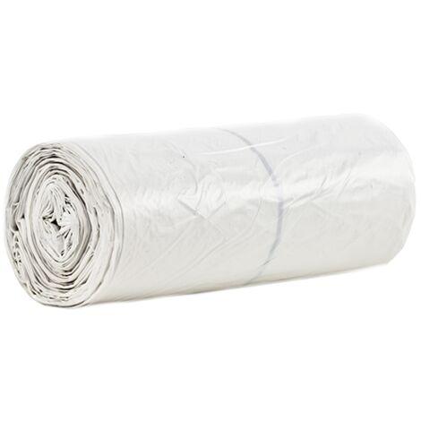 TOPCAR - Carton de de 200 sacs poubelles transparents 130 litres Epaisseur 50µ - S1180000