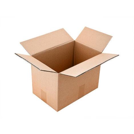 Carton Double Cannelure CAISSE AMERICAINE 20x20x14 Cm Lot De 40