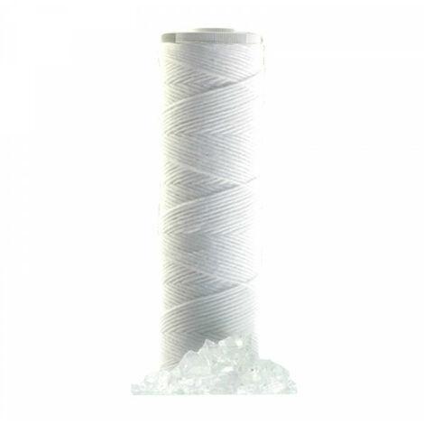 Cartouche 2 en 1 - Polyphosphate et filtration antiparticules 20µ