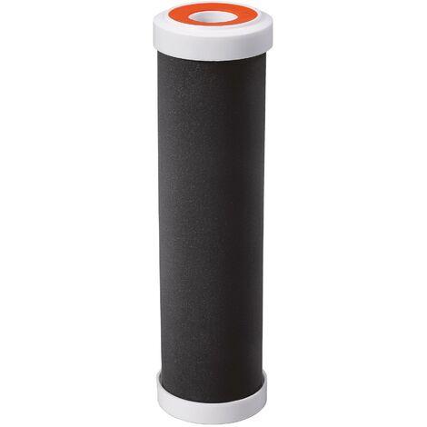 """Cartouche 3 en 1 pour eau de boisson : filtration et anti bactéries et anti odeurs - Taille standard 10""""- Durée 12 mois"""