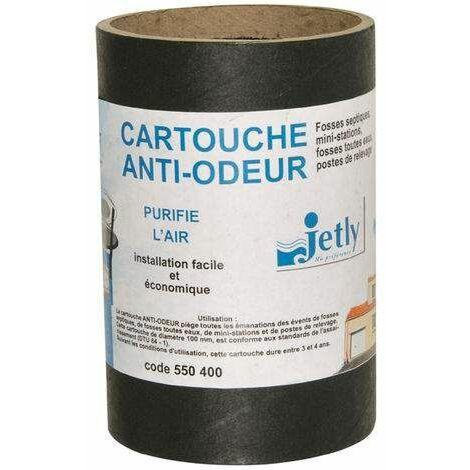 Cartouche anti odeur de Jetly - Accessoires pompes et stations de relevage