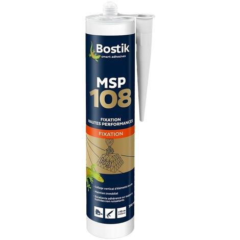 Cartouche Bostik Mastic MS108 Blanc 290 ml - 30133127