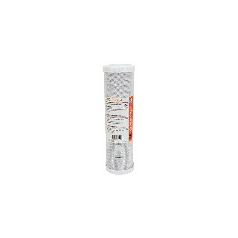 Cartouche CBC-05-934 Premium charbon actif 93//4-5 /µm Crystal Filter/®