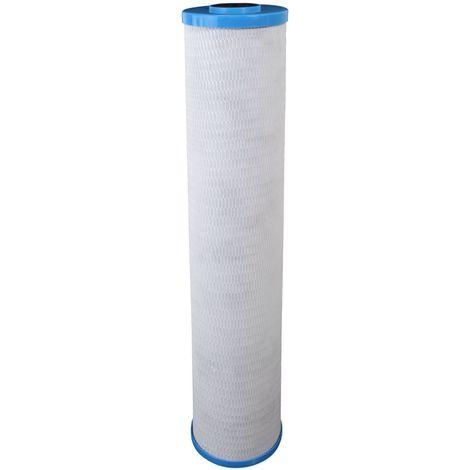 "Cartouche Crystal Filter® CBE-10-20BB charbon actif 20"" Big Blue - 10 µm"