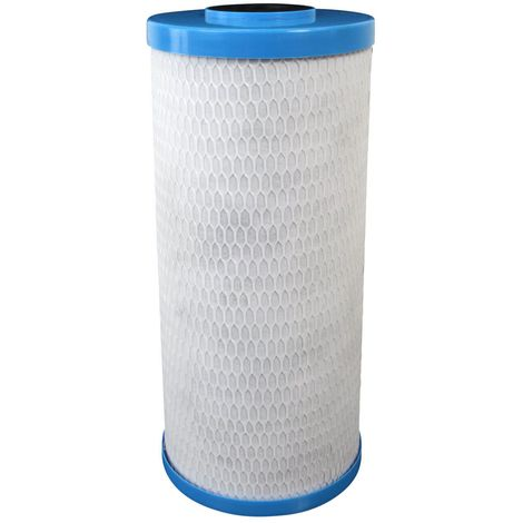 "Cartouche Crystal Filter® CBE-10-934BB charbon actif 9""3/4 Big Blue - 10 µm"