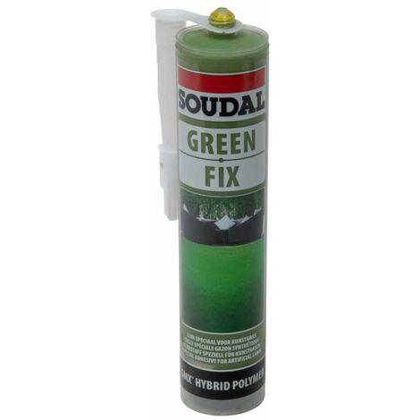 Cartouche de colle pour gazon artificiel Soudal 290ml vert
