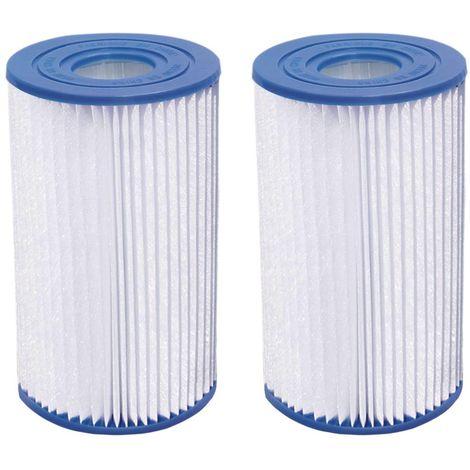 Cartouche de filtration H&J de type A/C - Lot de 4