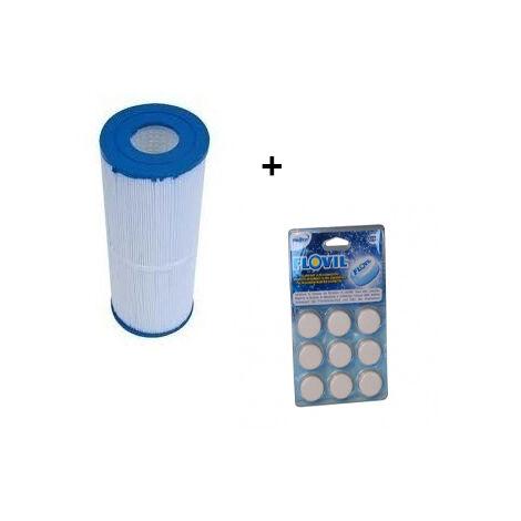 Cartouche de filtration pour filtre Hayward C500 avec Flovil