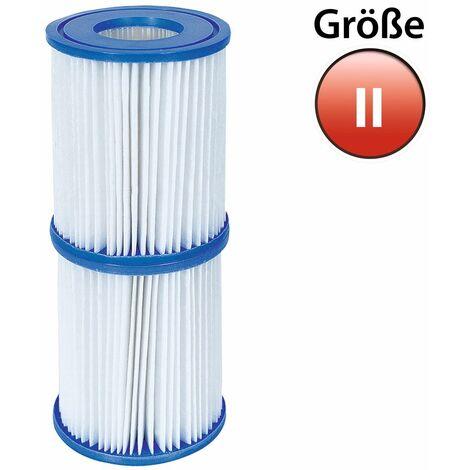 Cartouche de filtre Type 2 Bestway - 2x cartouche de filtration Pompe Piscine