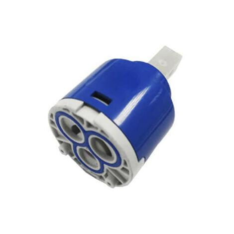 Cartouche de recharge EDM pour mitigeurs - 40 mm - Bleu